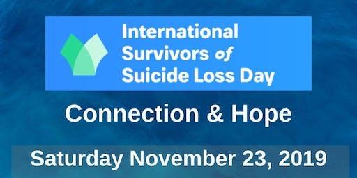 International Survivor of Suicide Loss Day