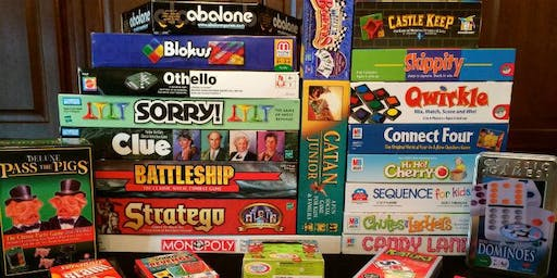 Years 2 to 6 - Board Games Evening
