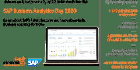 SAP Business Analytics Day 2020 tickets