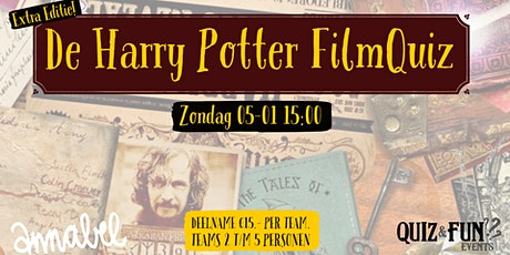 De Harry Potter FilmQuiz | Rotterdam 05-01 tickets