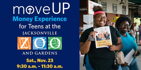 moveUP Money Experience for Teens at the Jacksonville Zoo and Gardens tickets