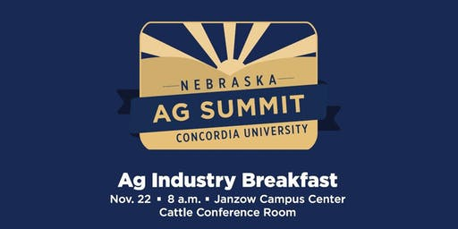 Nebraska Ag Summit Industry Breakfast