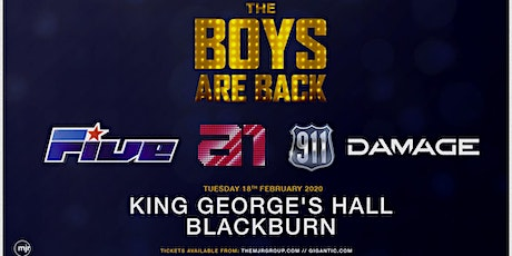 The Boys Are Back ( King Georges Hall, Blackburn) tickets