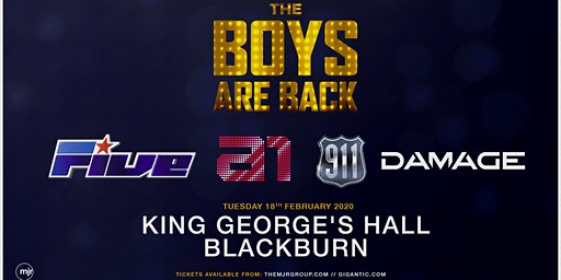 The Boys Are Back ( King Georges Hall, Blackburn)