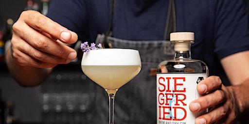 """Workshop """"Fancy Cocktails & Deko"""" im Showroom von Siegfried Gin"""
