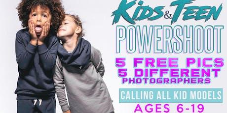 Kids & Teen Powershoot tickets