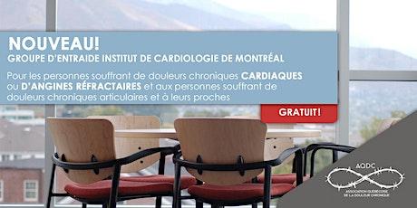 Groupe d'entraide Institut de Cardiologie de Montréal billets