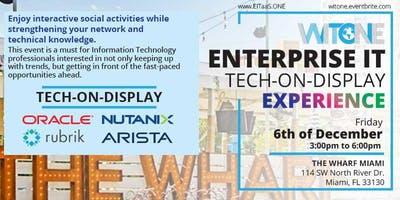 WIT ONE Enterprise IT Tech-on-Display Experience