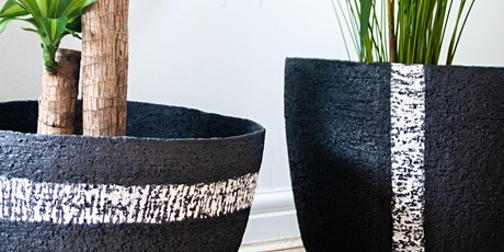 Planters and Vases - Adult full day pottery workshop tickets