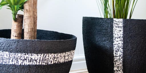 Planters and Vases - Adult full day pottery workshop
