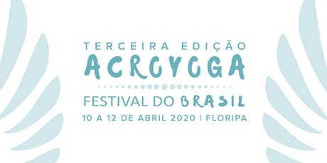 AcroYoga Festival do Brasil 2020 ingressos