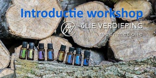 Introductie workshop essentiële oliën 27 november