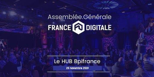 Assemblée Générale France Digitale 2019