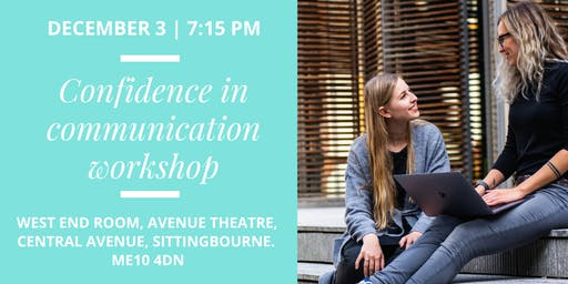 Confidence in Communication Workshop