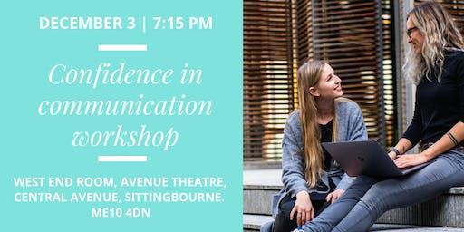 Confidence in Communication Workshop