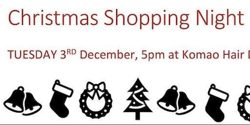 Christmas Shopping Night Komao