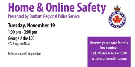 Home and Online Safety - 55+ Spotlight Series tickets