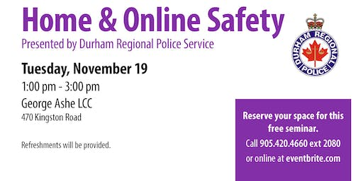 Home and Online Safety - 55+ Spotlight Series