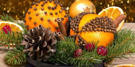 Christmas Pomander Making