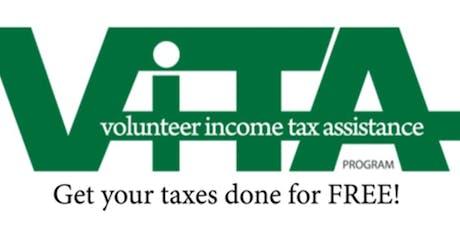 VITA  Tax Prep: Saturday, April 4, 2020 - Waldorf West Library tickets
