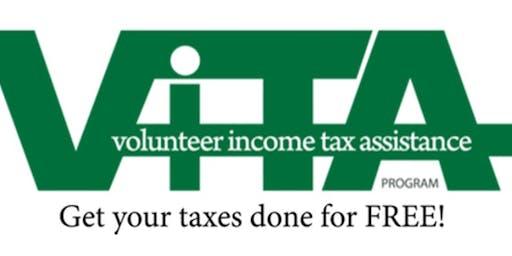VITA  Tax Prep: Saturday, April 4, 2020 - Waldorf West Library