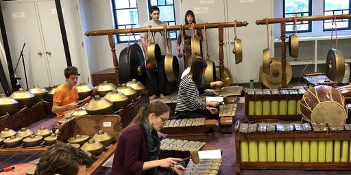 BATES GAMELAN ENSEMBLE: Featuring Artist-in-Residence Stephanie Griffin