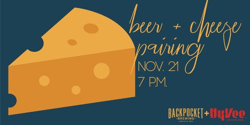 Beer + Cheese Pairing Event