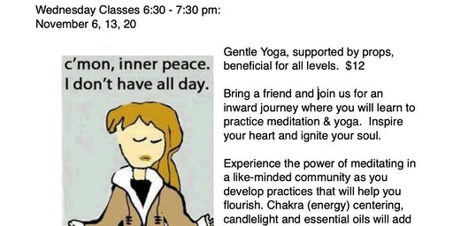 Wednesday Gentle Yoga