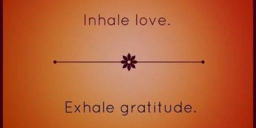 Free Gratitude Practice -Yoga & Meditation on Turkey Day