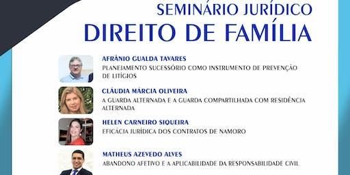 Seminário Jurídico de Direito de Família