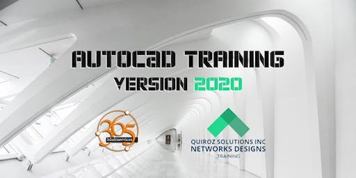 AutoCAD Training Version 2020 (En Español)