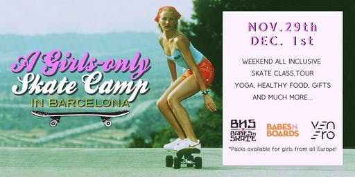 GIRLS SKATE CAMP&XMAS-TOUR