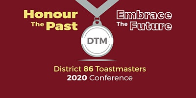 2020 District 86 Toastmaster Spring Conference