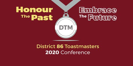 2020 District 86 Toastmaster Spring Conference tickets
