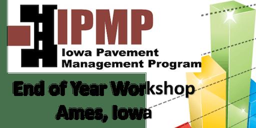 Iowa Pavement Management Program 2019 End of Year Workshop