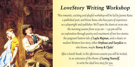 Sufism & the Art of Loving :: LOVESTORY WRITING WORKSHOP tickets
