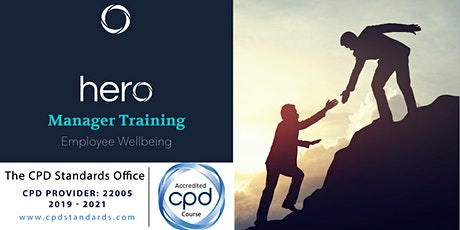 Manager Training: Employee Wellbeing tickets