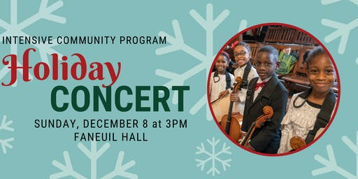 ICP Holiday Concert - FREE!