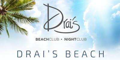 #1 Rooftop Pool Party in Vegas - Drais Beach Club - 3/29