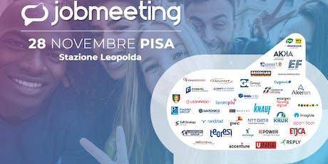 Job Meeting PISA: il 28 Novembre incontra le aziende che assumono! biglietti