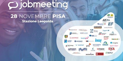Job Meeting PISA: il 28 Novembre incontra le aziende che assumono!