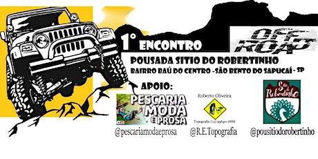 1° encontro Off Road Bairro do Baú - São Bento do Sapucaí ingressos