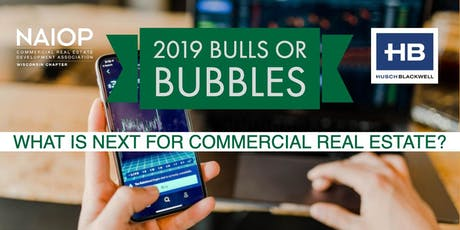 2019 Bulls or Bubbles: What's next for the CRE Industry? tickets