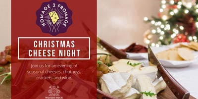 Christmas Cheese Tasting Night at The Woodstock Arms, Didsbury