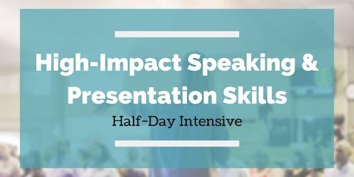 High-Impact Speaking & Presentation Skills