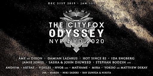 Cityfox Odyssey NYE & NYD 2020: Âme b2b Dixon, Sasha & John Digweed + More