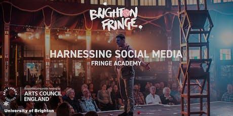 Fringe Academy: Harnessing Social Media tickets