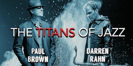Paul Brown & Darren Rahn tickets