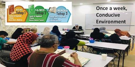 Basic Quran (Alif-Ba-Ta) using VAK techniques - Preview Class tickets