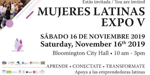 Mujeres Latinas EXPO V